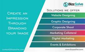 Website Designing, Graphic Designing, & other req Business Solutions