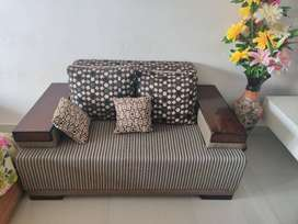 7 Seater Sofa with Table