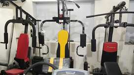 Multifunction weight lifting home gym exercise machine