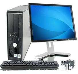 """Complete Computer set Core I5, 15"""" Lcd 4gb Ram/250gb hdd 8500/- Only"""