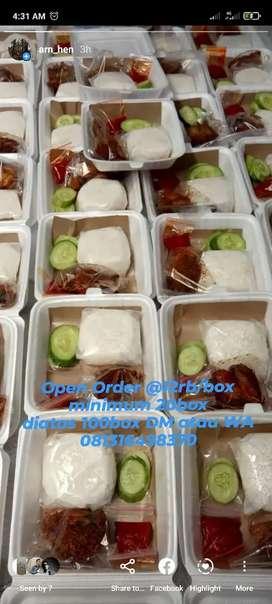 Nasi Box murah meriah enak