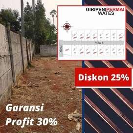 Inves Tanah Kapling SHMP Kawasan Kulonprogo, DISKON 25%