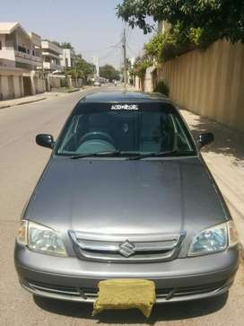 SUZUKI CULTUS  MODEL 2011-12 GREY