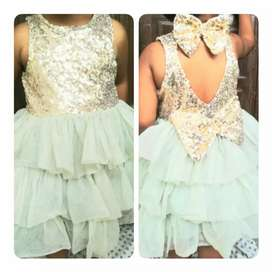 Available in every size.. Baby girls frocks