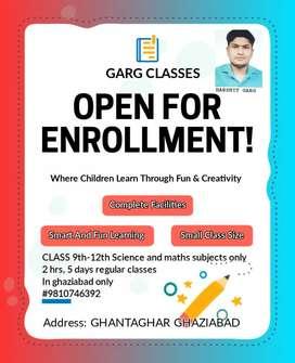 Tuition teacher online and offline class 9th-12th standard