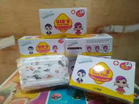 Masker Anak Isi 50 (Chasa-Disposable Face Mask)