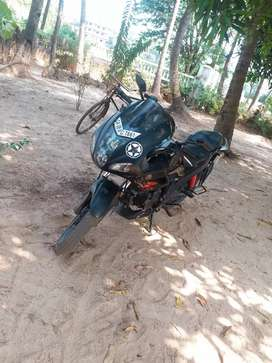 less driven bike in mint condition with special number