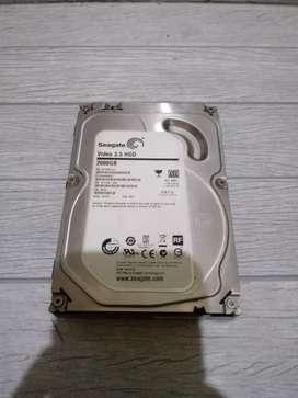 Hardisk PC Seagate 2tb Garansi