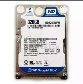 "320٠ GB-Sta Hard Disk Drive 2.2 ""for Laptop and External Pocket"