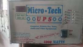 Micro tech ups new condition only 1 year use