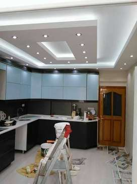 false ceiling office . shops, homes