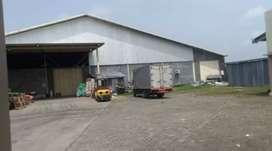 Jual gudang Mojolaban sukaharjo luas 7500mtr SHM harga 17Myd nego