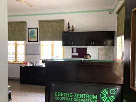 2500 sq ft furnished office space near mg road