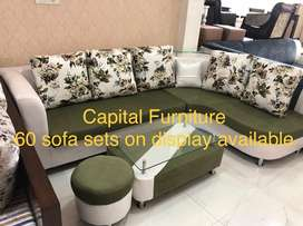 New corner sofa on instalment at very affordable price