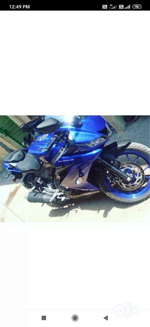 Want to cell my bike R15 with best price 0