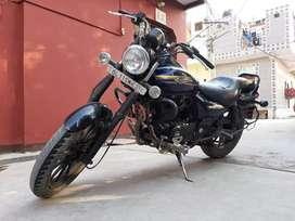 Blue 150 cc bajaj avenger