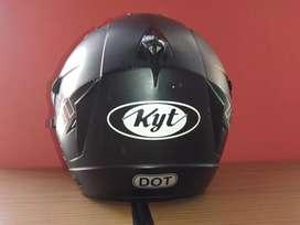 Helm kyt venom hitam doff