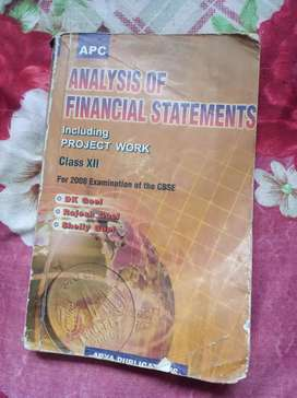 Class 12th Analysis of Financial Statement Book