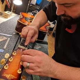 Guitar Servicing & repairs