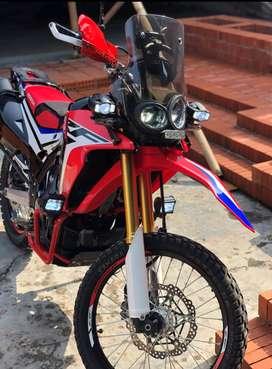 CRF 250 Rally. Free accs >12jt Pajak Panjang