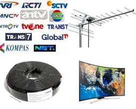 PAKET PASANG BARU ANTENA TV SIARAN DIGITAL UHF