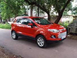 Ford Ecosports titanium plus . car is located at Bhilai