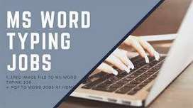 Genuine Typing jobs- Earn upto 55k