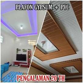 Plafon gypsum plafon kanopi pengalaman 20 th lebih GARANSI