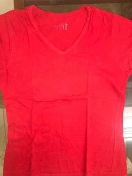 2nd hand Bright Red t-shirt.