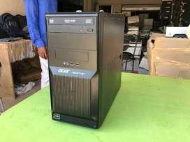 Acer Cpu  dual core DDR3 4 GB RAM 320 GB HDD warranty