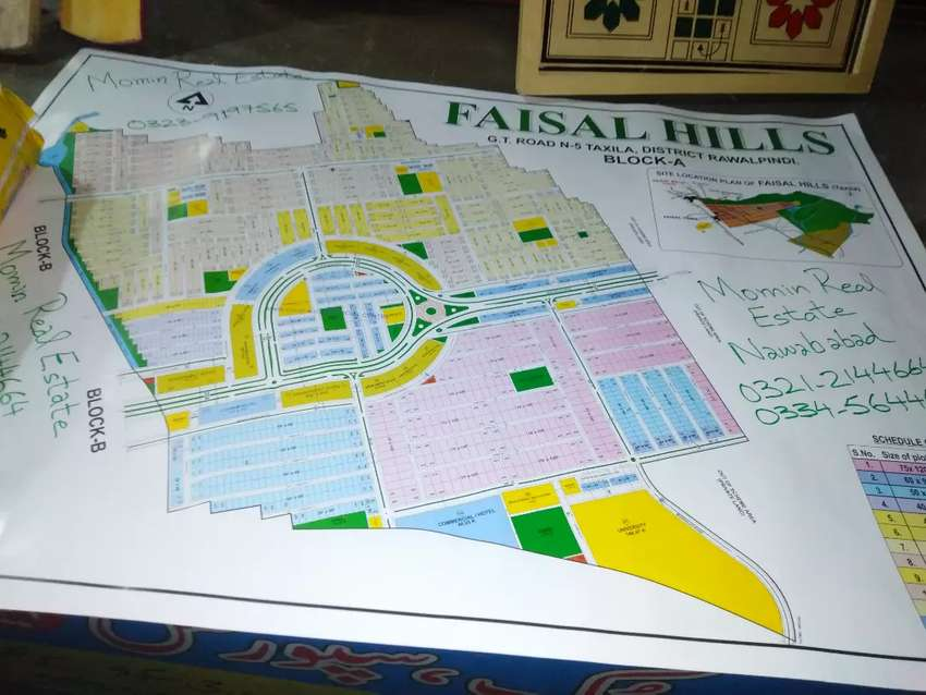 Faisal hills Block B Old file prime location double road 120 feet 0