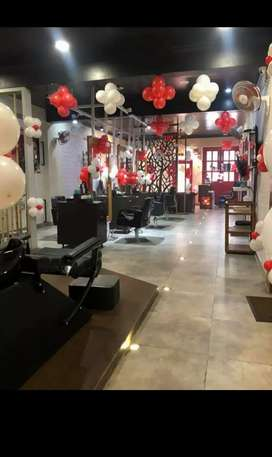 Complete Saloon setup for sale In Noida sector 122