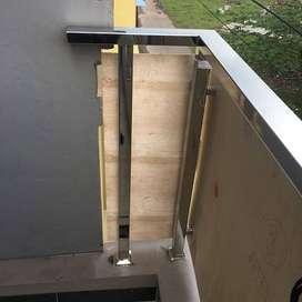 Pintu Aluminium Dan, jendela Kaca, Murah Berkualitas Siap Survey/YU744