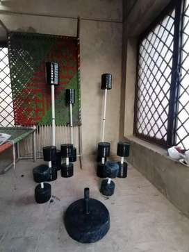 Home made exercise equipments