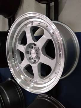 velg racing model hsr tapak lebar ring 17