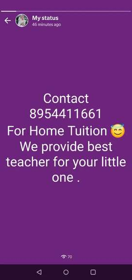 Home tuition and online tutions