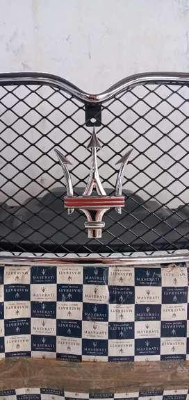 Front bumper grill maserati quattroporte executive sport gt genuine