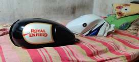 Royal Enfield Classic Petrol tank & R15 tank available