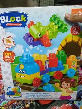 Mainan anak baru block kiddy star baru yah inbok aja