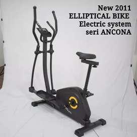 Eliptikal bike crosstrainer bike sepeda statis magnetik