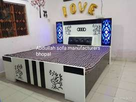 Newly made exclusive double bed with storage direct from factory