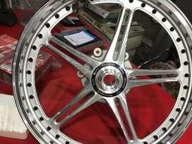 Alloy wheel of bullet