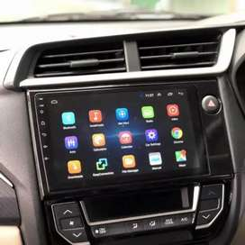 Headunit android 9in for Brio Mobilio + frame