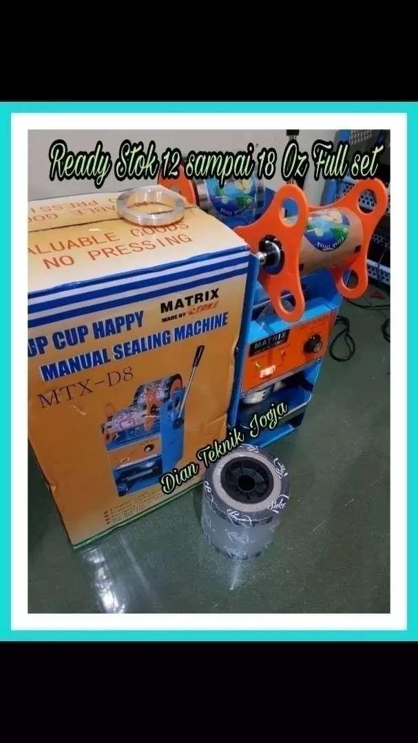 Mesin cup sealer matrix D8 Dian teknik tap Buka smp mlm 0