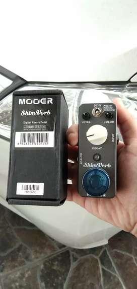Efek Gitar Mooer Shimverb Digital Reverb