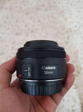 LENSA CANON 50mm f1,8 STM Lengkap