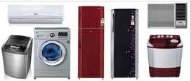 Fridge, AC, Washing Machine, Grezer all are Repaired here.