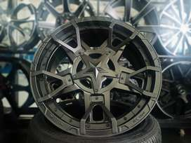 Velg Rockstar Ring 20x9 Pcd 6x139 on Hilux Triton Ford Everest panther