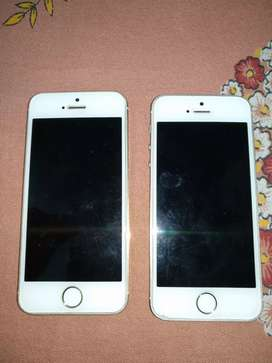 2 non functioning iphone 5s with software failure