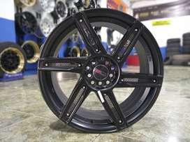 promo velg mobil merk hsr wheel  type->ADP HSR R18X8 H10X100-114,3
